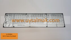 U-705913 SN71 Torna Diş Etiketi