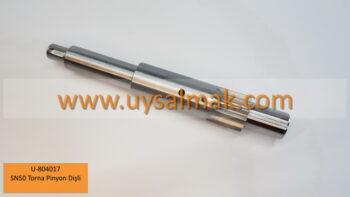 U-804017 SN50 Torna Pinyon Dişli