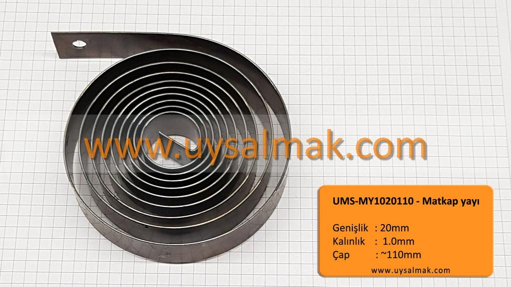 UMS-MY1020110-L Sevindik matkap yayı (içi L)