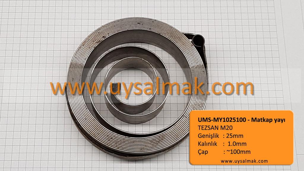 UMS-MY1025100 TEZSAN M20 matkap yayı